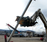 Gater Grapples Post Rotator