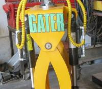 Gater Grapple Model 03 / Hurricane for 1.5 ton to 4.5 ton machines