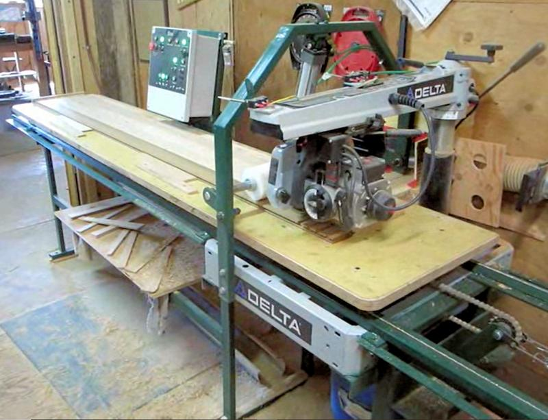 20A Automatic Radial Arm Saw